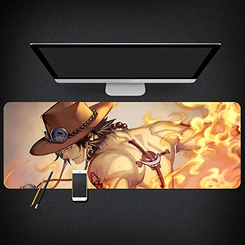 Gaming Mauspad | 800 X 300x3mm | XXL Tischunterlage |One Piece Mouse Pad|Glatte Oberfläche, Rutschfestes Gummi, Mauspad Mit Designs Für Gamer Und Büroarbeit-PC-B_800*300 * 3mm