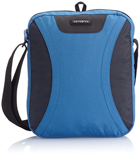 Samsonite Wanderpacks Tablet Cross-Over Umhängetasche, Blue/Bluish Grey