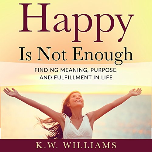 Happy Is Not Enough audiobook cover art