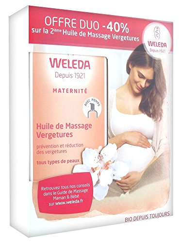 Preisvergleich Produktbild Weleda / Stretch Mark Massage Oil / 2 x 100ml
