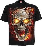 Spiral - Men - Skull Blast - T-Shirt Black - Large