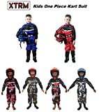 XTRM Traje de carreras para niños – Junior Motocross niño Quad Dirt Bike MX Off Road Trials Go-Karting Enduro Niños ATV MTB BMX Mono deportivo de carreras de una pieza
