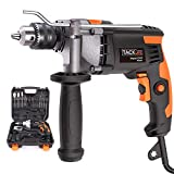Hammer Drill,850W 7.1-Amp 3000 RPM Hammer and Drill 2 Mode in, Impact Drill with 15 Drill Bits,Hand Electric...