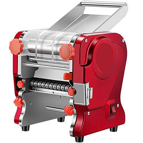 YXMxxm Máquina para Hacer Pasta,Máquina De Prensado De Masa De Fideos Eléctrica Comercial con Cortador De Cuchillo De 3 Mm/9 Mm para Espaguetis,Lasaña,Linguini