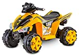 Kid Trax Electric Kids Ride-on Toy, Rechargable Battery, CAT Power, 6V