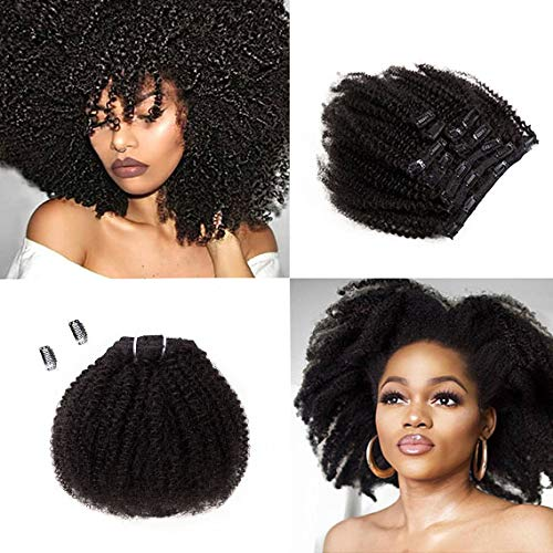 SAGA QUEEN Hair Mongolian Afro Clip free shipping In Curly Extensio excellence Kinky