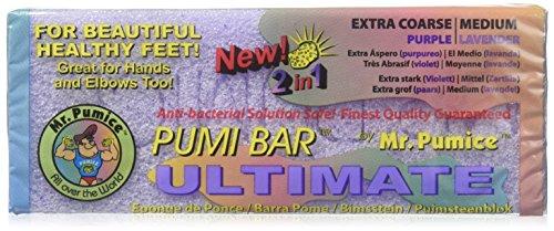 Mr. Pumice Pumi Bar Ultimate ( Coarse/Purple - Medium/Lavender ) 1 Pumice Bar by Mr. Pumice