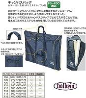 ホルベイン キャンバスバッグ F30 紺・フタ付 140567