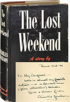 Hardcover The Lost Weekend (First Edition, signed in the year of publication) Book