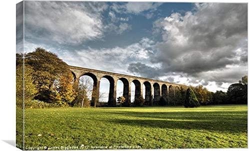 J Biggadike - Lienzo decorativo (762 x 1168 mm), diseño de viaducto...