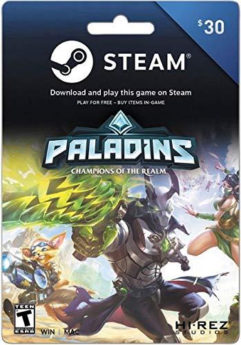 Steam Gift Card - $30