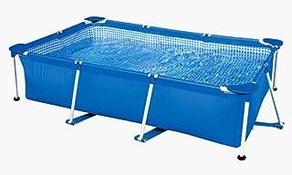 NOBRAND Wwceem Mink Piscina de natación Inflable Rectangular Piscina Cubierta y al Aire Libre Piscina de Gran tamaño para niños Piscina para el hogar Piscina para Adultos Engrosada Piscina Inflable