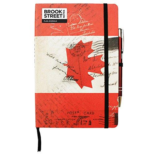 Canada Vlag Notebook - Hardback A5