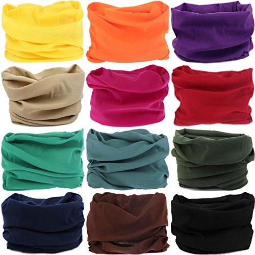 VANCROWN Headwear Head Wrap Sport Headband Sweatband 220 Patterns Magic Scarf 12PCS & 6PCS 12...