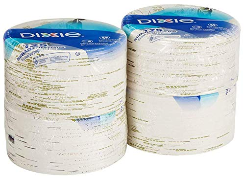 DIXIE Pathways Everyday Paper Plates Table Ware, 8.5in (500, Clear