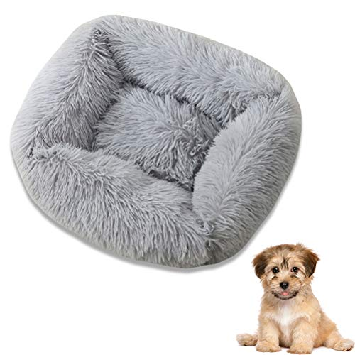 Ububiko Rundes Hundebett Katzen Kissen Sofa Für Hunde Soft Donut Bett, Korb Für Hunde, Kissen Für Katzen Korb,
