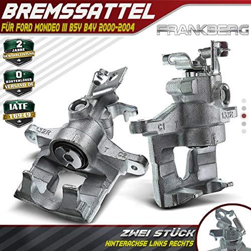 2x Bremssattel Bremszange Hinten Links und Rechts für Mondeo III B5Y B4Y bis 2004/08 1144079