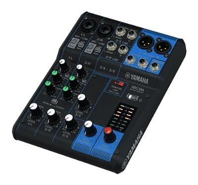 Yamaha MG06 6-Input Compact Stereo Mixer from Yamaha PAC