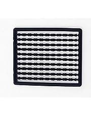 Milepetus 1000 piezas de aparejos de pesca de carpas para el pelo boilie tapón cebos dumbell Paradas (negro)