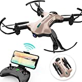 DBPOWER FPV RC Drone with 720P HD Wi-Fi Camera Live Video Feed 2.4GHz...