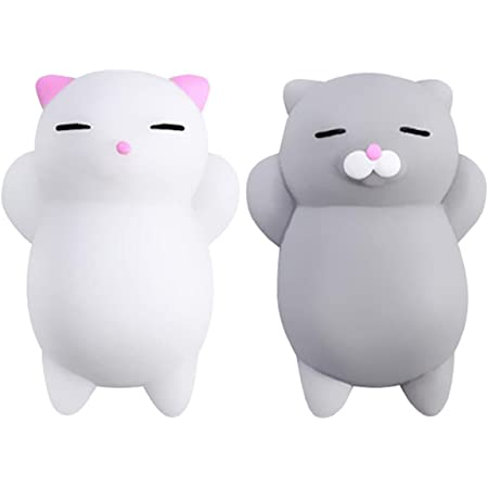 Squeakaboo and Ringaling Toys Cat Baby Gift Set