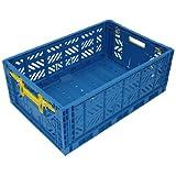 イデアインターナショナル FALT BOX L 収納ケース ボックス ブルー FB-112