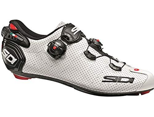 Sidi Wire 2 Carbon Air Schuhe Herren White/Black Schuhgröße EU 43 2020 Rad-Schuhe Radsport-Schuhe
