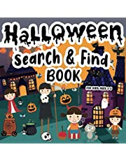Halloween Search & Find Book for Kids Ages 2-5: A Fun Halloween Activity Book with Hidden Pictures: Ghosts, Creatures, Spooky Treats and Fall Items!