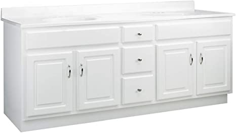 Amazon Com Design House 587048 Combo Concord Vanity Without Top Unassembled White 72 X 21 Beauty Personal Care