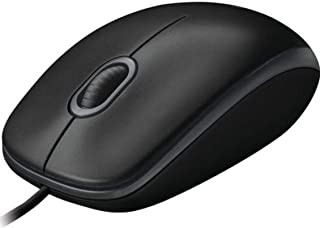 Logitech B100 Optical USB Mouse,اسود