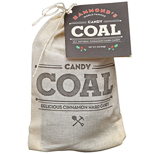 Candy Coal, Christmas candy gift, Stocking stuffer, 2oz. Bag