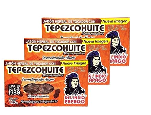Herbal Soap Bar With Tepezcohuite Set of 3