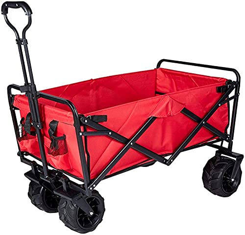 Carro de jardín Carros de utilidad al aire libre plegable jardín playa compras camping carro para la playa compras