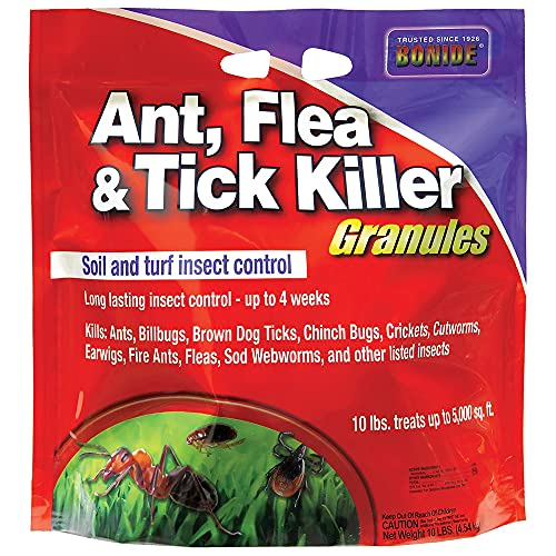 Bonide Products INC 60613 Ant, Flea & Tick Killer Granules