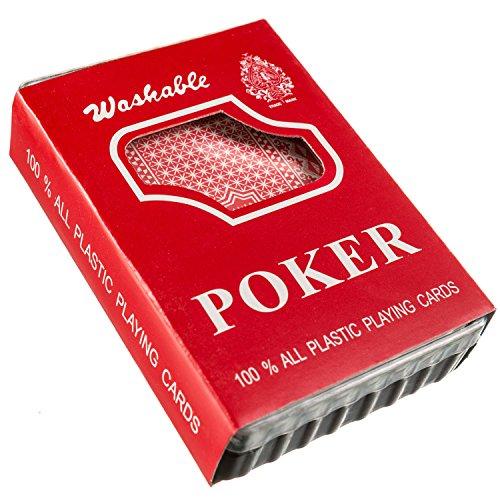 Goods & Gadgets Royal Plastic Poker Cards Cartes à Jouer en Plastique 100% Plastique