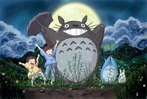 500 Piezas / 1000 Piezas de Rompecabezas de Madera para niños / Adultos, Juguetes educativos de descompresión (Anime One Piece)
