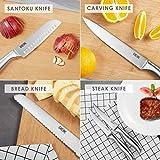 Zoom IMG-1 deik set coltelli cucina 16