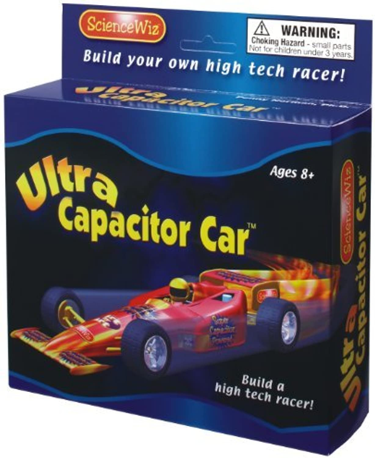 Science Wiz  Ultra Capacitor Car Activity Kit by Science Wiz