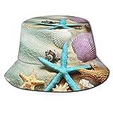 hulili Sombrero de pescador de setas de mar, plegable, portátil, impermeable, plegable, impermeable, plegable, resistente al sol, transpirable, para pesca, caza, senderismo, camping, playa, golf