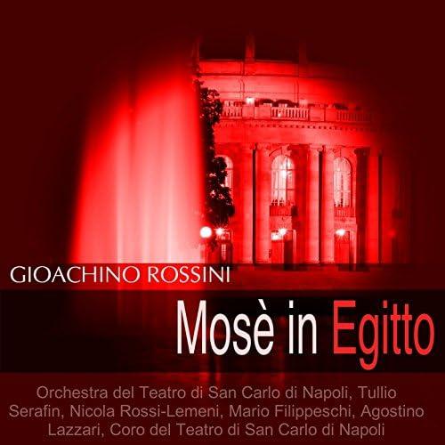 Orchestra del Teatro di San Carlo di Napoli, Tullio Serafin, Nicola Rossi-Lemeni, Mario Filippeschi