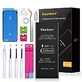 Batería para iPhone 6s 2200mAh con 29% más de Capacidad Que la batería Origina, YARBER Reemplazo de Alta Capacidad Batería para iPhone 6s con Kits de Herramientas de reparación, Cinta Adhesiva