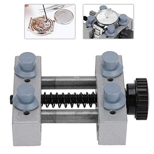 Horloge Case Houder, Aluminium Verstelbare Pin Locatie Horloge Reparatie Accessoire