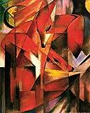 1art1 Franz Marc - Füchse, 1913 Poster Kunstdruck 50 x 40