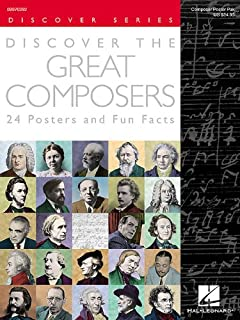 Discover the Great Composers (Set of 24 Posters): Poster Pack