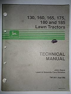 Best john deere 165 lawn tractor manual Reviews