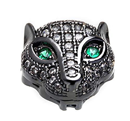 sxdqsz wolf head beads cubic