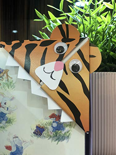 Mindfulness: Tiger Animal Origami Kit segnalibro (sacchetto per festa) x10