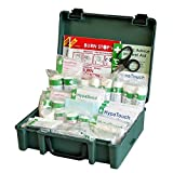 Safety First Aid Economy Workplace First Aid Kit BS 8599 Compliant, Medium Fully-Stocked