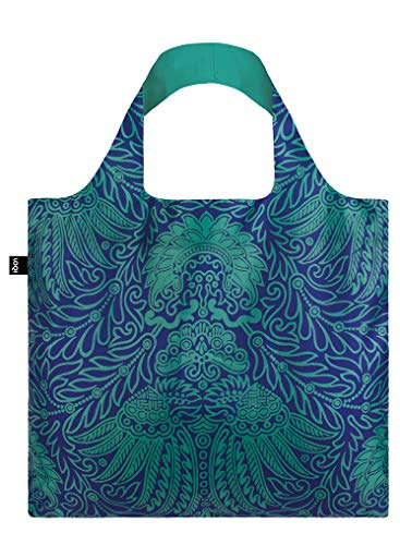 LOQI MAD Japanese Decor Bag Travel Tote, 50 cm, 15 liters, Multicolour (Japanese Decor), MAD.JA