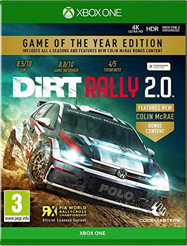 Dirt Rally 2.0 Game of the Year Editon (Xbox One) [ ]
